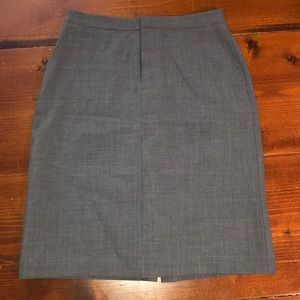 Gap pencil gray skirt with pockets